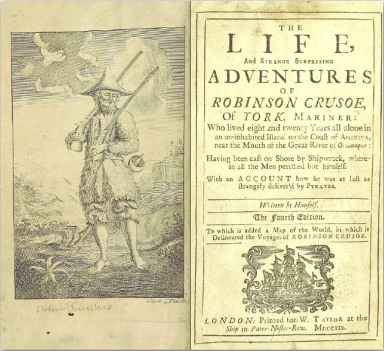 Robinson crusoe essay topics