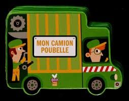 Mon Camion Poubelle Illustration 3d Characters July