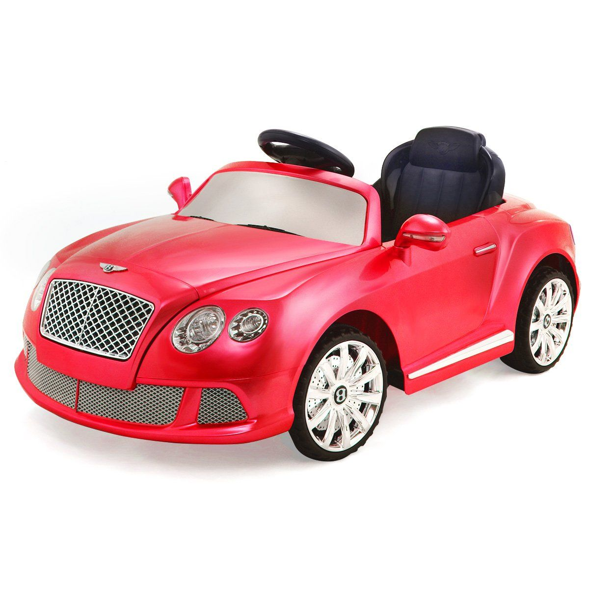 Toys car battery  Costzon Bentley GTC V Kids Ride On Car Battery Powered RC Remote