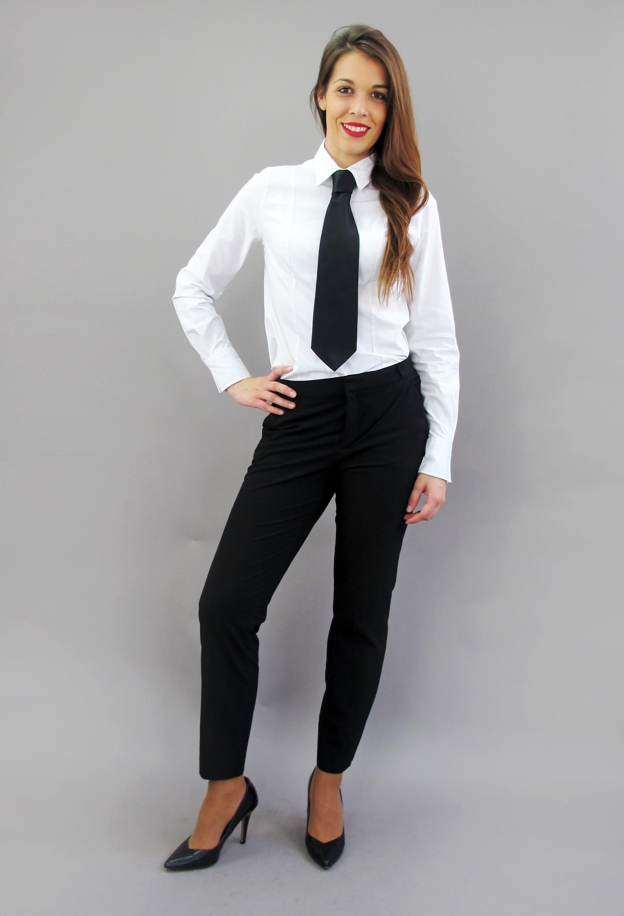 Women Wearing Ties Formal Wear Women Women Office Outfits [ 2928 x 1996 Pixel ]