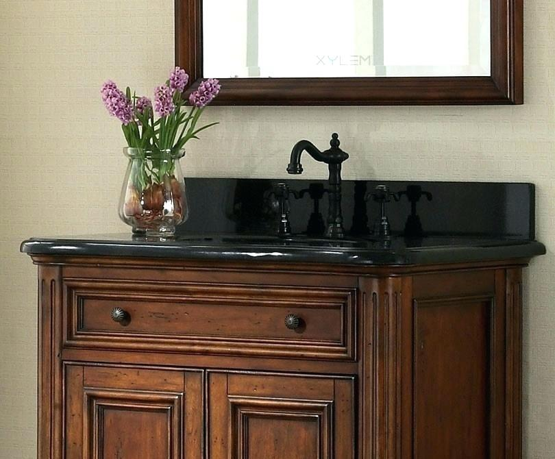 Black Hardware On Black Countertop Bathroom Vanity Tops Bathroom Vanity Black Vanity Bathroom