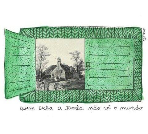 Abra a janela!