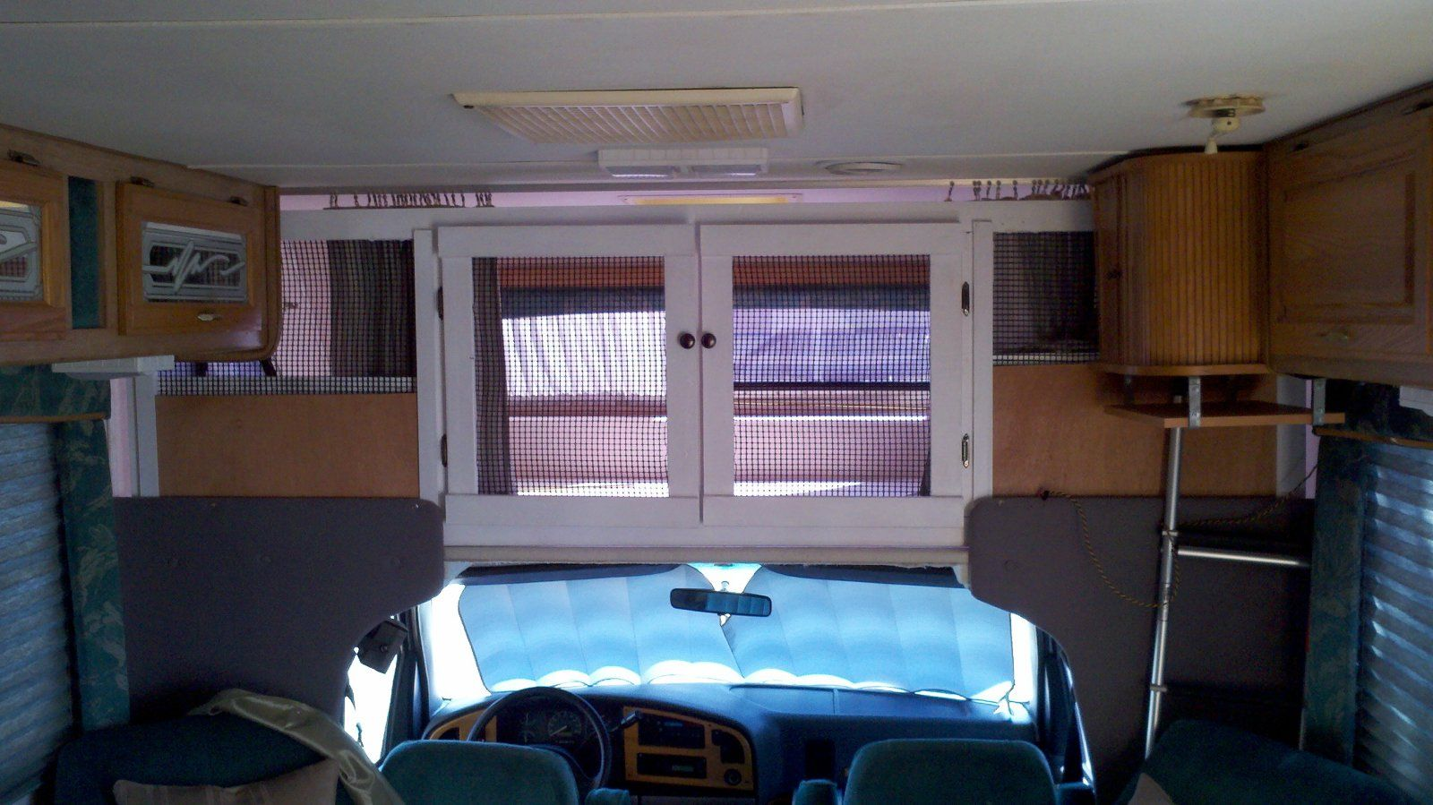 Rv curtains motorhome class a - Class C Rv Built In Cat Enclosure Http Www Irv2