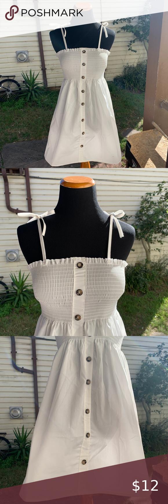 Women S Dress White Stretchy Top Dress Tie Strap Womens Dresses Stretchy Tops Tie Dress [ 1740 x 580 Pixel ]
