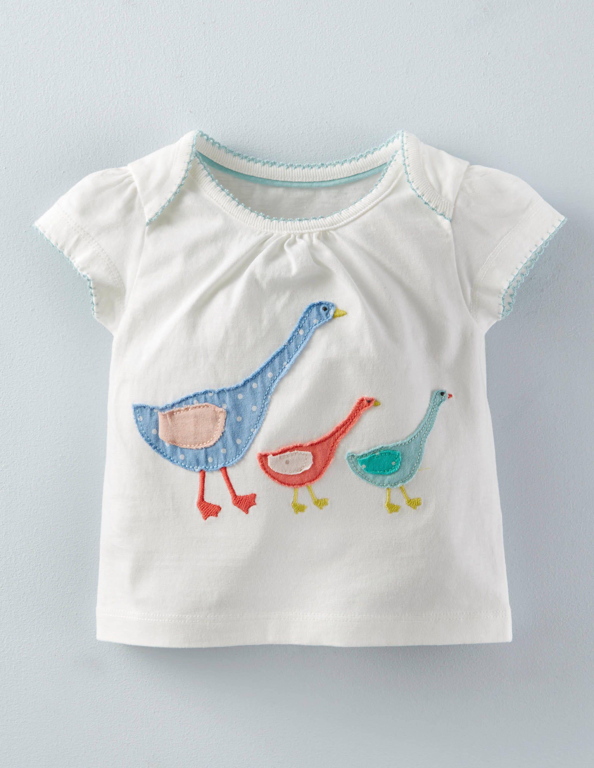 T Shirt Mit Patchwork Applikation Kleinkinderbekleidung