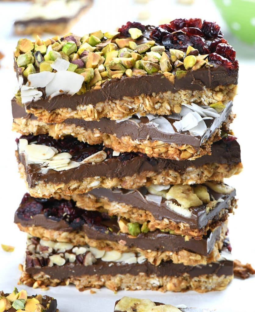 Chocolate Granola Bark Is Healthy Snack And Healthy Treat Recipe Chocolate Granola Healthy Treats Bark Recipe
