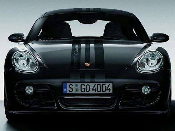 Porsche Cayman Black Edition Stripes Dream Cars