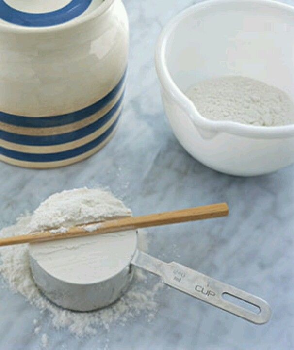 Chopsticks as Flour Leveler  Use a chop stick to easily level flour in a measuring cup. Leave it in the flour canister and you won't have to rummage for a clean knife.