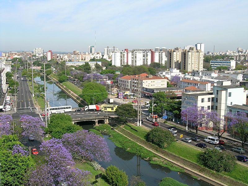 Porto Alegre Mais Fotos Avenida Ipiranga Vista Do Hospital Hed