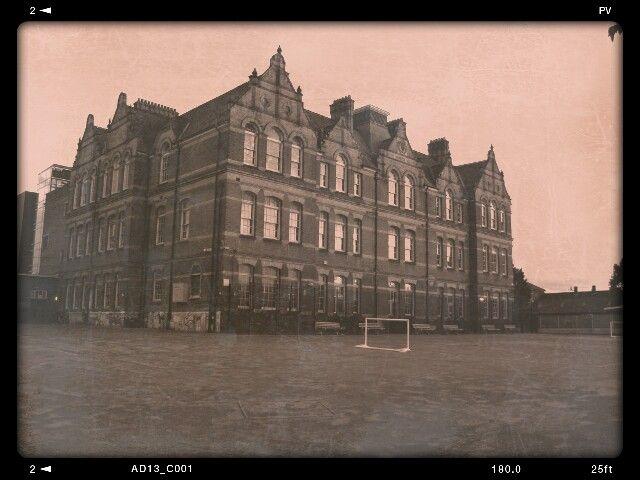 Northbury Junior School In Barking Essex Essex England Old