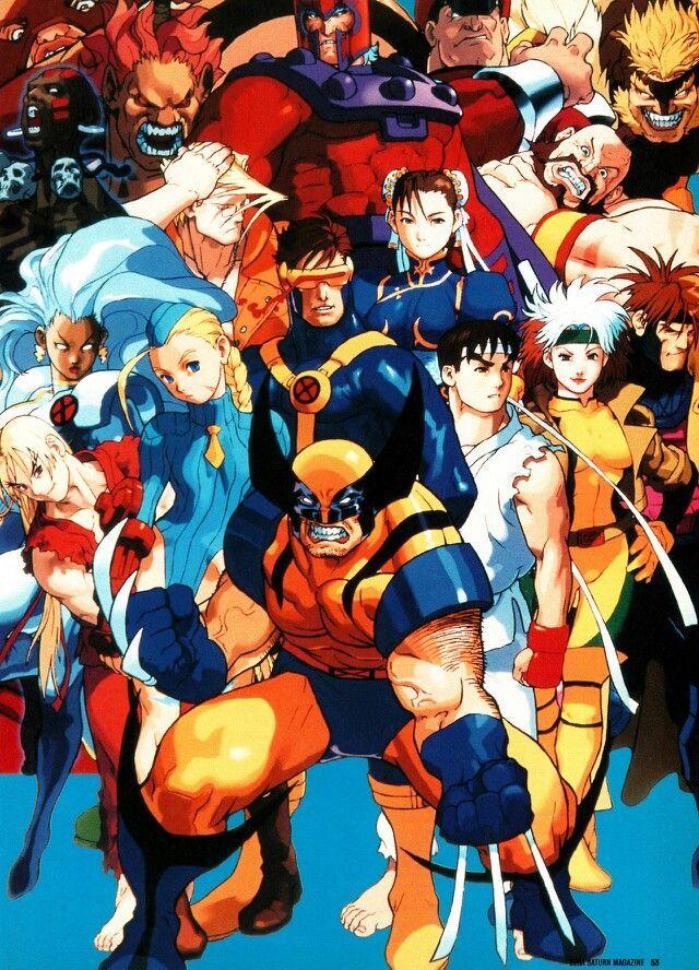 X Men Vs Street Fighter Bengus Capcom Art Street Fighter Art Art Of Fighting