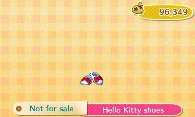 Animal Crossing New Leaf Sanrio Hello Kitty Series Hello Kitty