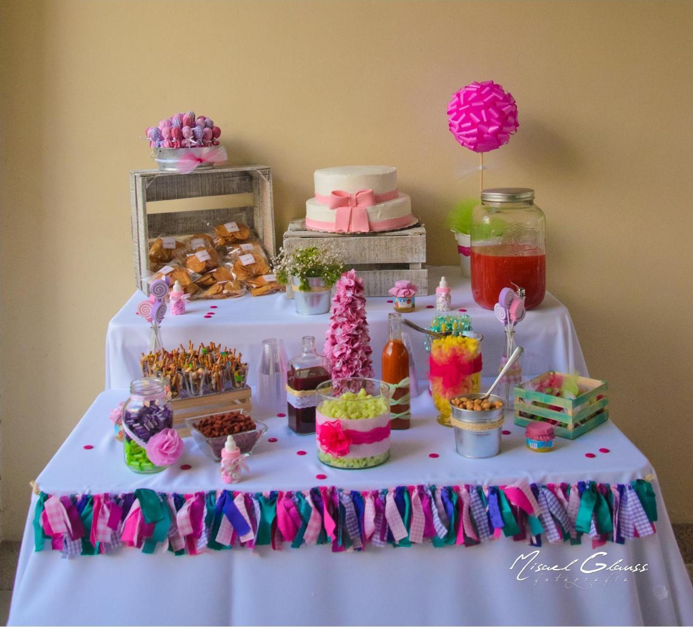 Mesa de snacks baby shower pinterest ideas para - Mesa baby shower ...
