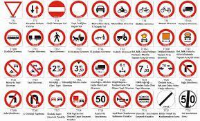 Trafik Isaretleri Boyamalari Anlamlari Ve Aciklamalari Ile Ilgili