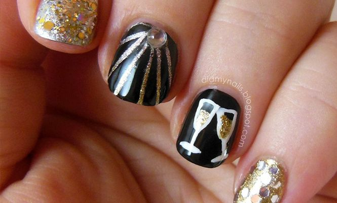 Top 10 New Years Eve Manicures Manicure