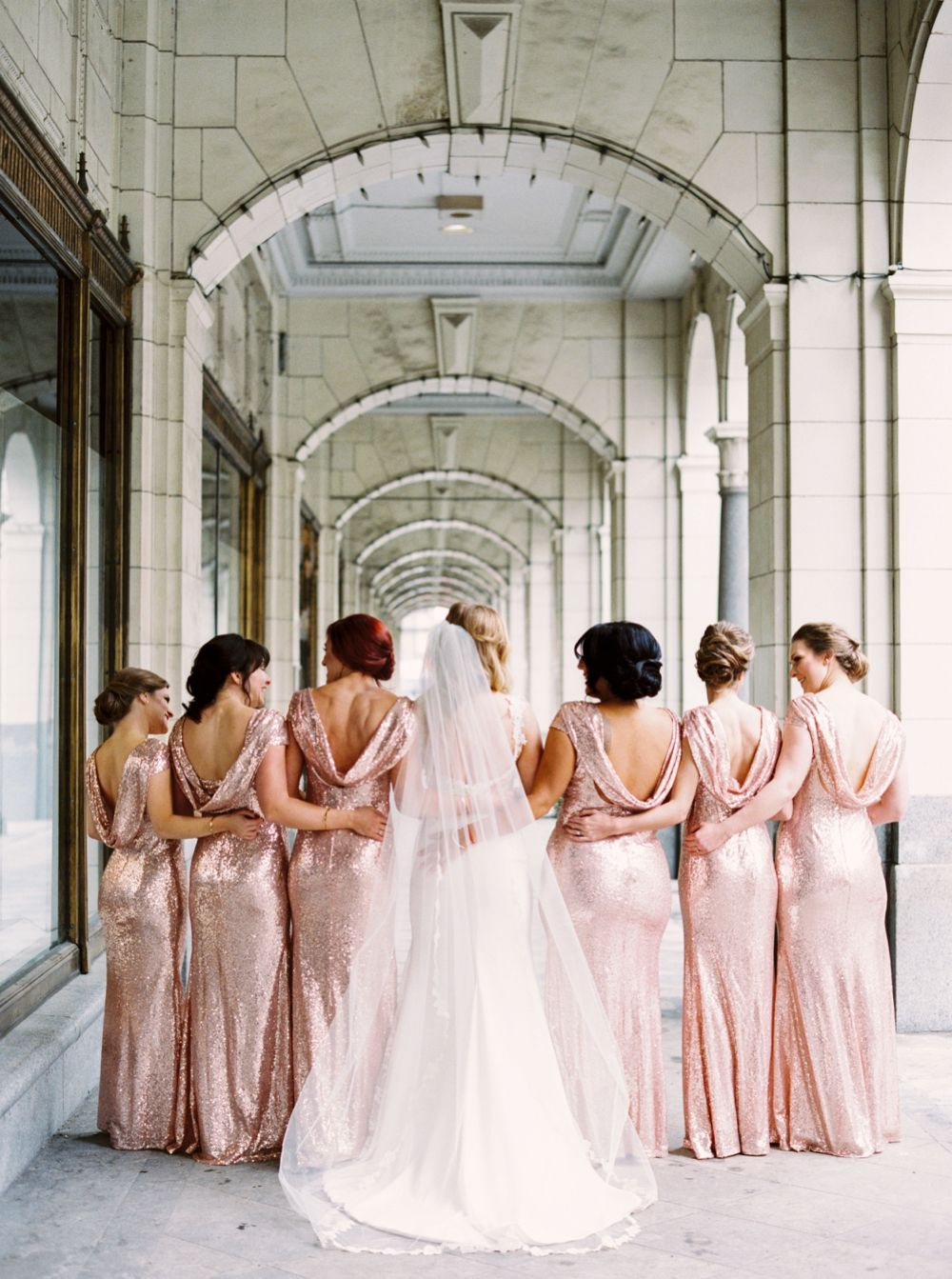 Rose gold sequin bridesmaids dresses calgary wedding rose gold sequin bridesmaids dresses calgary wedding photographers teatro wedding new years eve ombrellifo Image collections