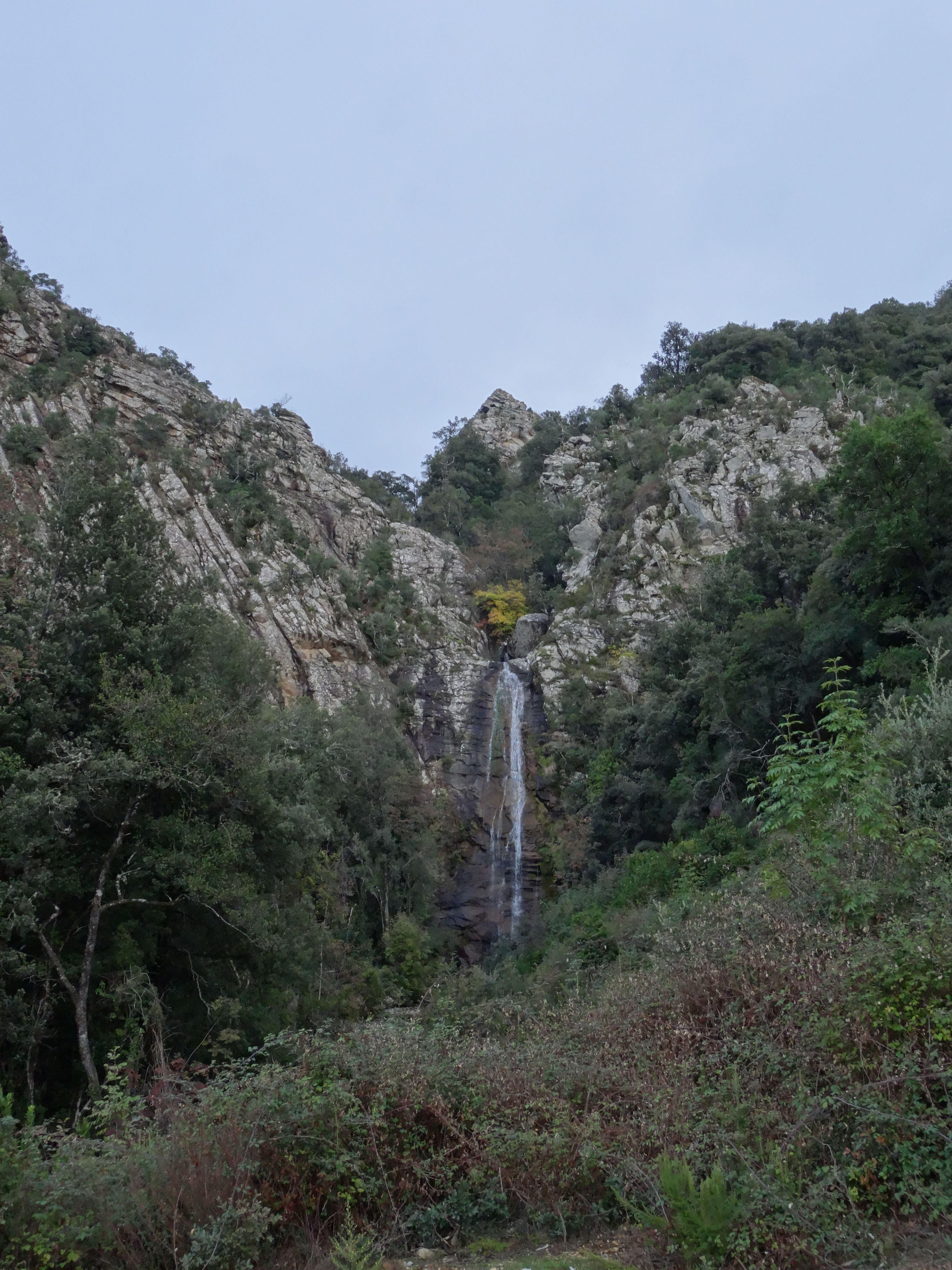 Cascade de Carnevale Bastelica Paysages de Corse