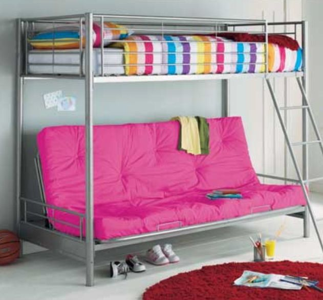 Bunk Bed With Sofa Underneath