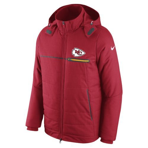Nike Men S Kansas City Chiefs Sideline Jacket Nfl Store Nfl Nfl Fans