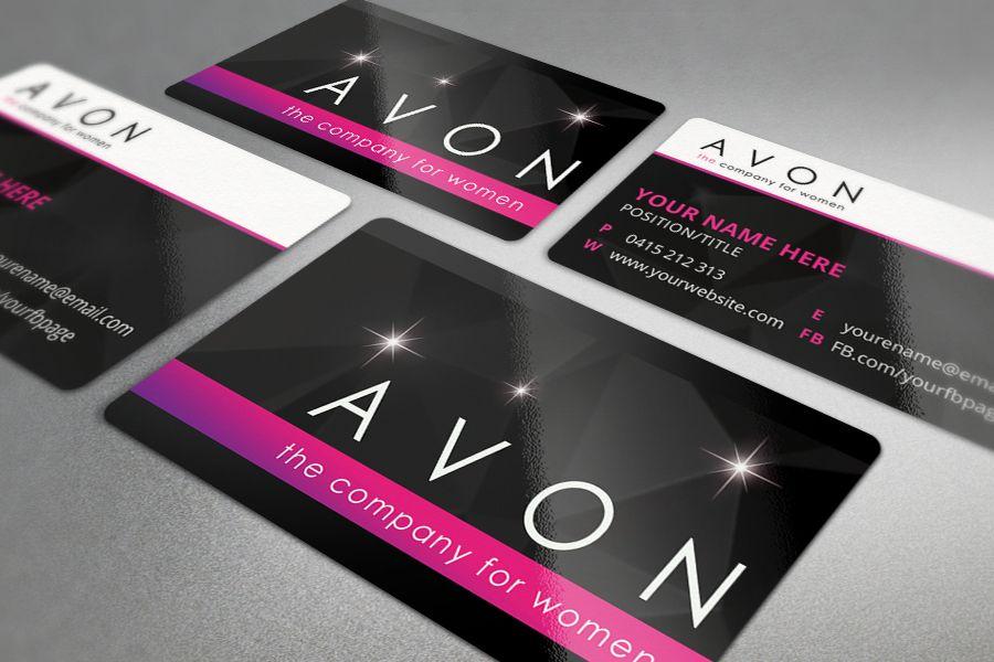 Avon Business Cards, Business Card Design #businesscards #avon ...