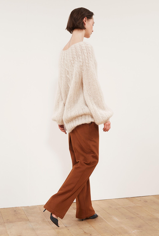 Pull Long Oversize Cachemire Prêtàporter Paris Mode Femme Marque - Pret a porter haut de gamme femme