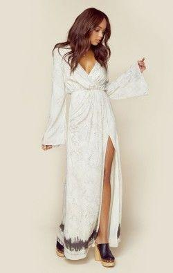 The Jetset Diaries Clothing Boho Dresses Python Maxi Dress
