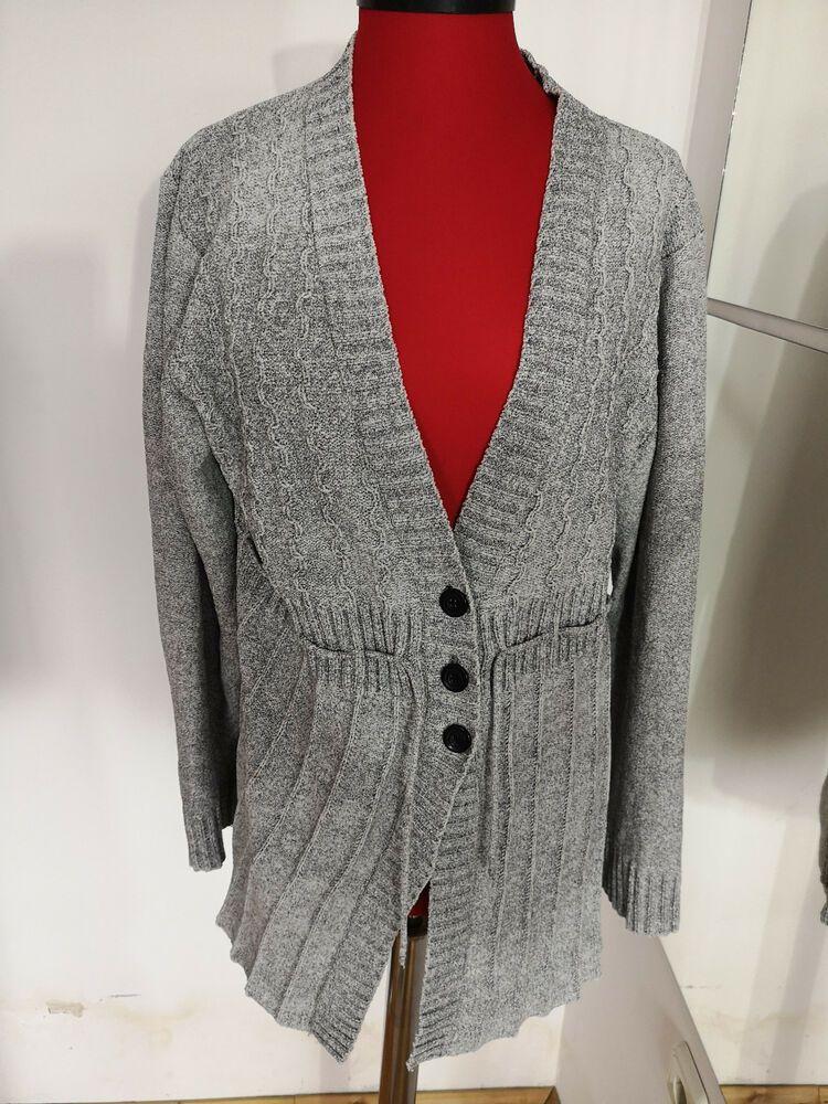 NKD Ladies Soft Light Grey Jumper Size L m10 fashion