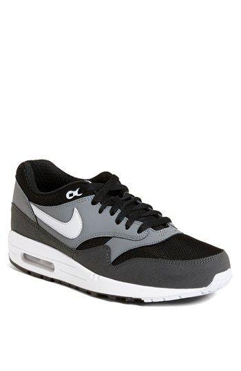 Nike Air Max 1 EM | White, Dark Obsidian \u0026amp; University Red | sneakers | Pinterest | Nike Air Max, Air Max 1 and Nike Air