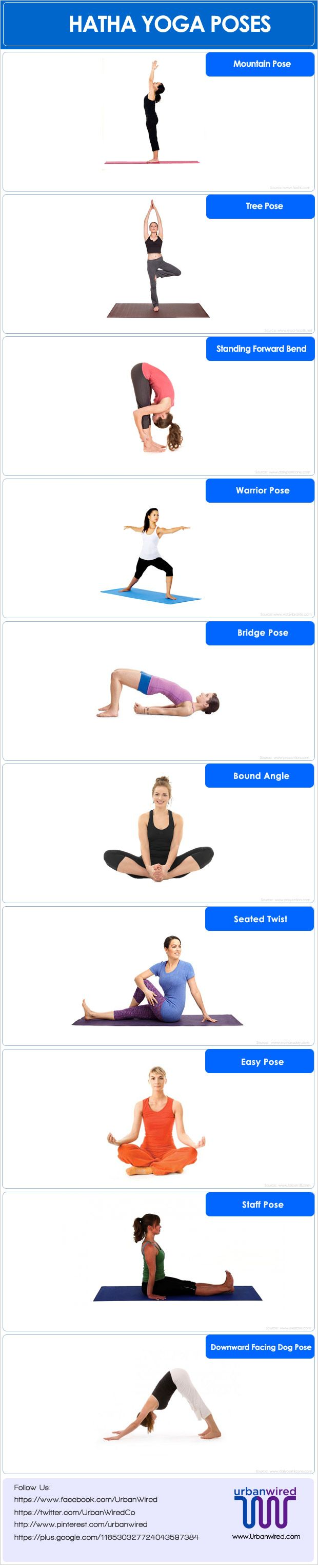 Hatha Yoga Poses With Pictures