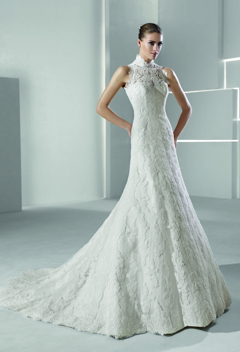 G 202 Collection No Vii Bridal Dresses Galia Lahav Fairy Tale Wedding Dress Wedding Dresses High Neck Mermaid Wedding Dress [ 1102 x 736 Pixel ]