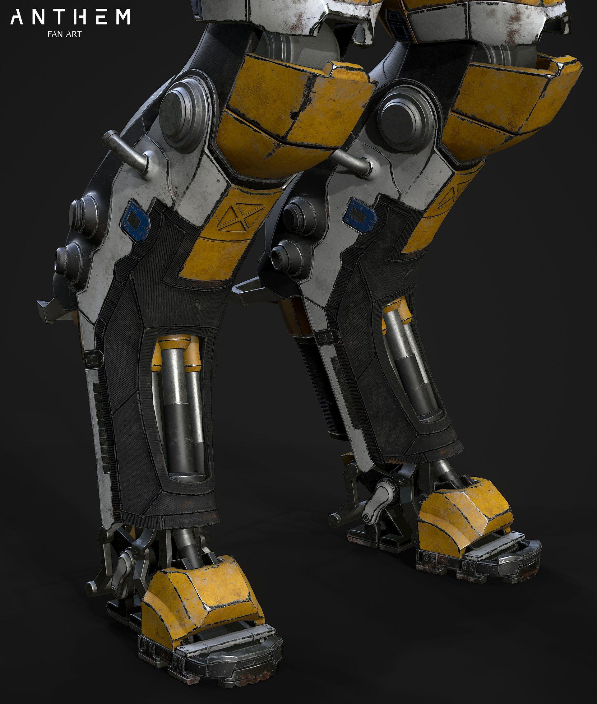 Artstation The Javelin Ranger Corbax Studio Ltd Robots