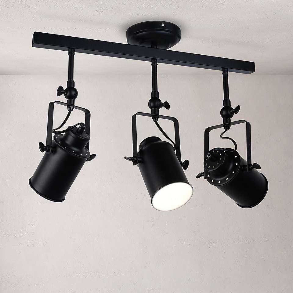 Healy Black 3 Spotlight Ceiling Ing Sage Kitchen In