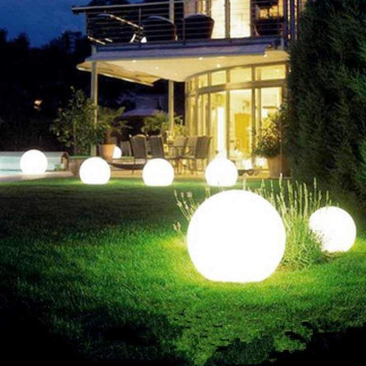Solar Powered Waterproof Outdoor Ball Lights Lawn Yard Landscape Decorative In 2021 Solar Powered Garden Lights Outdoor Garden Lighting Solar Lights Garden