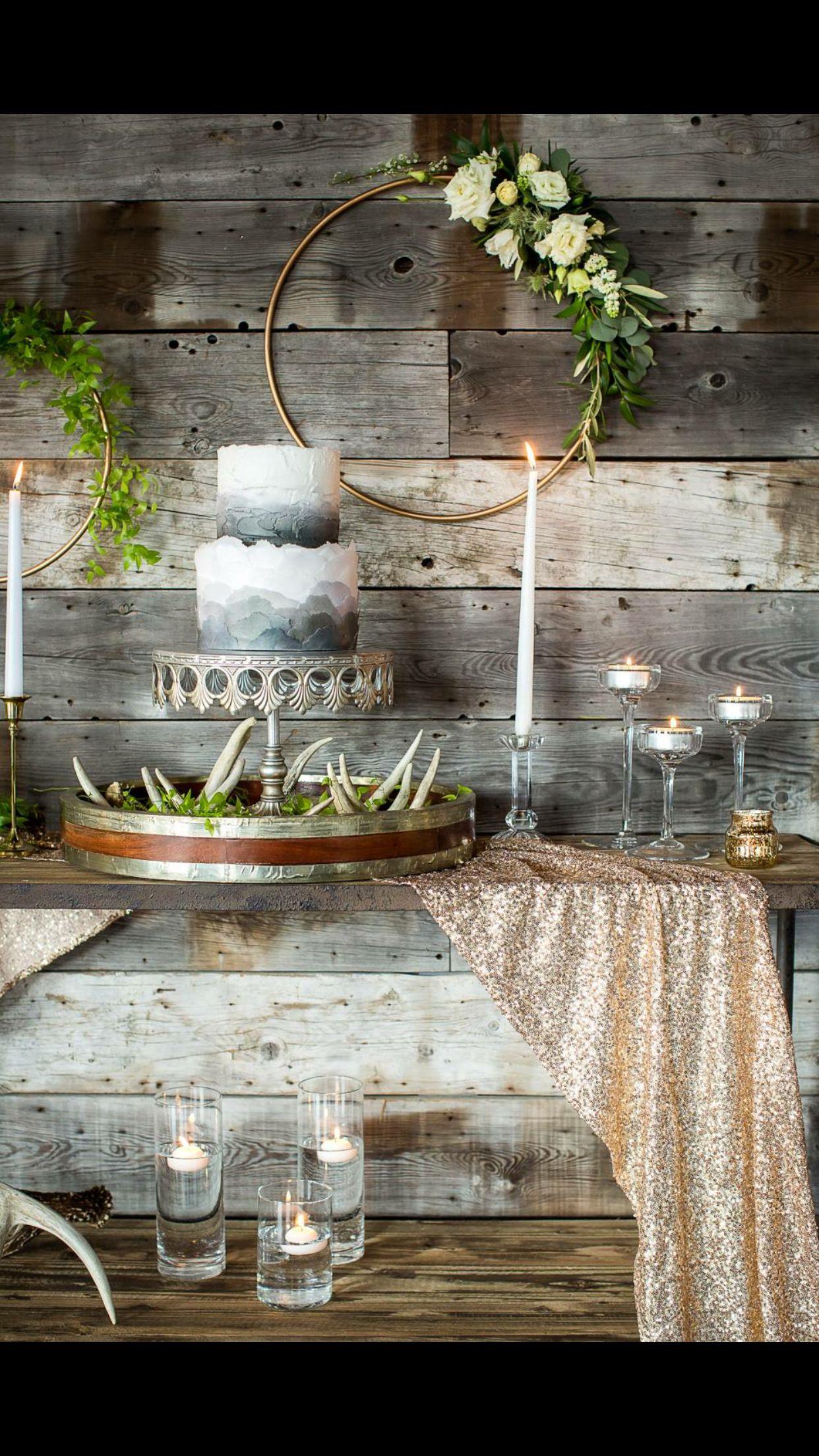 Wedding room decoration ideas 2018  Cake table  December th    Pinterest  Cake table