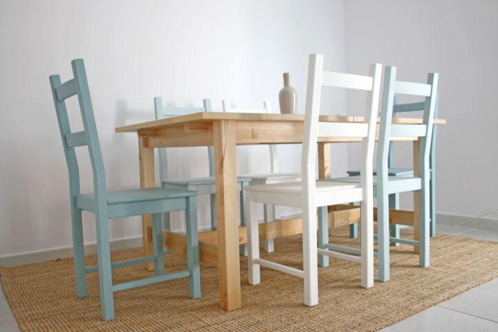 DiyChalkpainted WoodEetkamerstoelen DiyChalkpainted Ivar Ivar ChairsFreshamp; ChairsFreshamp; WoodEetkamerstoelen DiyChalkpainted ChairsFreshamp; Ivar hsCrxdtQB