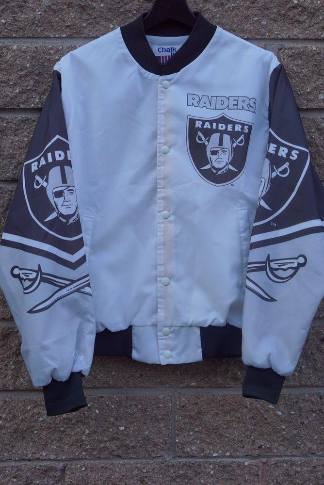 Chalkline Famination Nfl Oakland Raiders Jacket Ebay Oakland Raiders Nfl Oakland Raiders Vintage Clothes 90s
