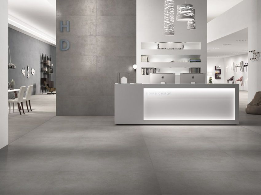 porcelain concrete looking tiles - google search | pitch gable