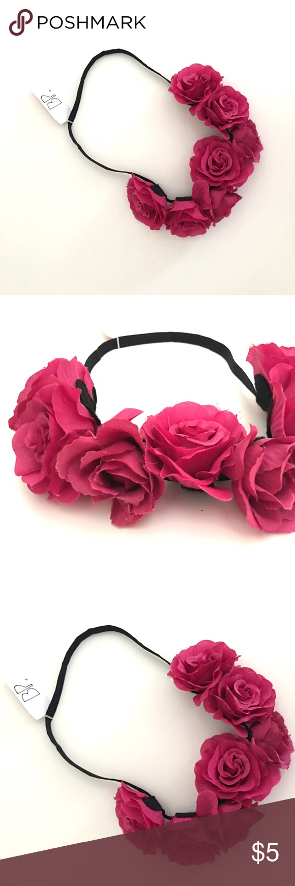 NWT BP Super cute Floral Crown Headband Very cute headband! Great for mommy and baby photo shoots or just be fab bp Accessories Hair Accessories #crownheadband