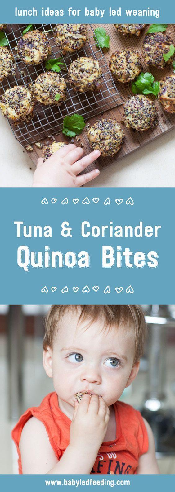Black Quinoa with Tuna and Coriander - hello yummy -