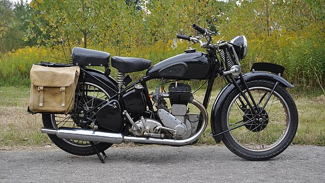 1942 Bsa M20 Mecum Auctions Bsa Motorcycle Motorcycle Motorcycle Vintage