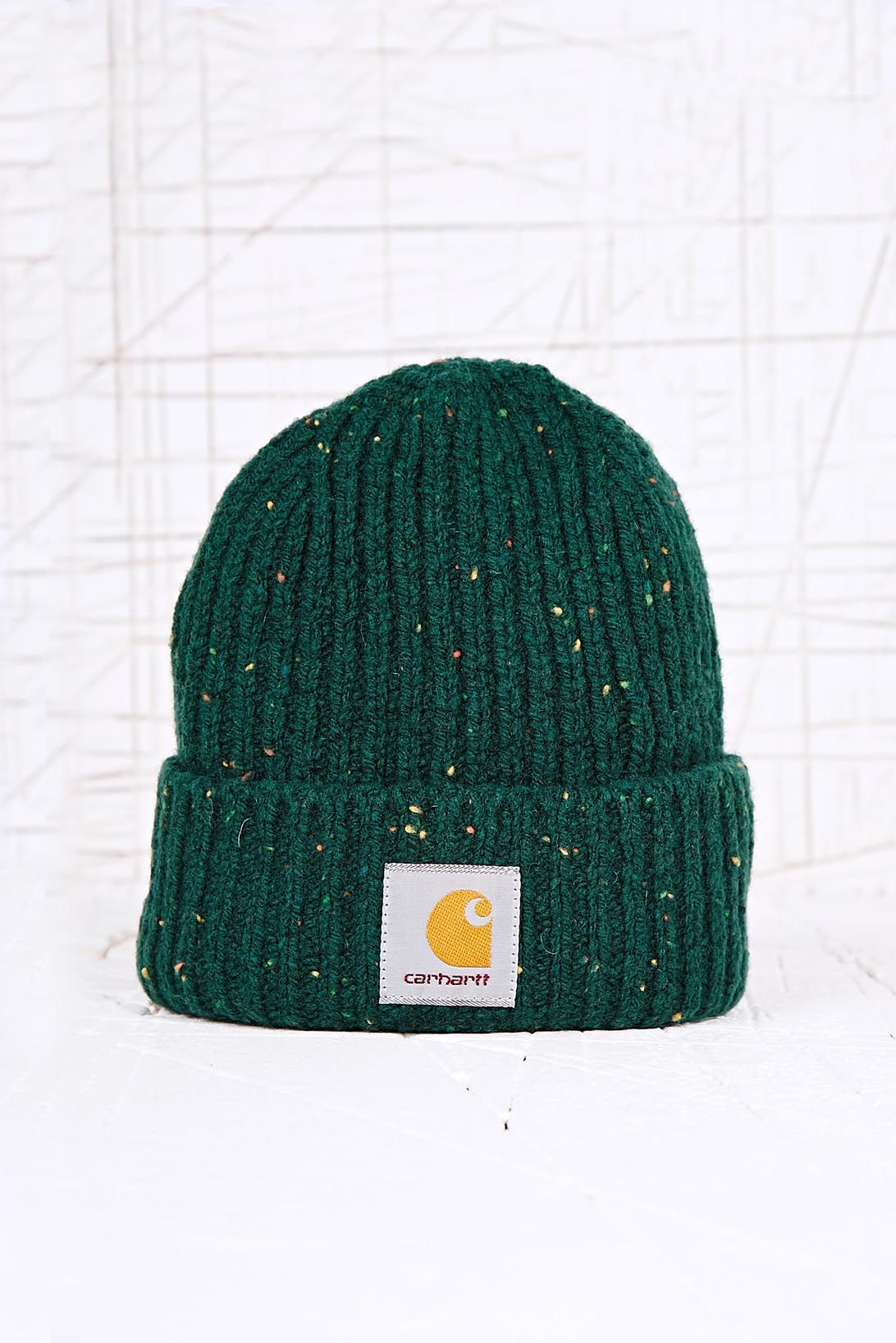 0342c45e0b4 Carhartt Anglistic Beanie Hat in Green in Green for Men