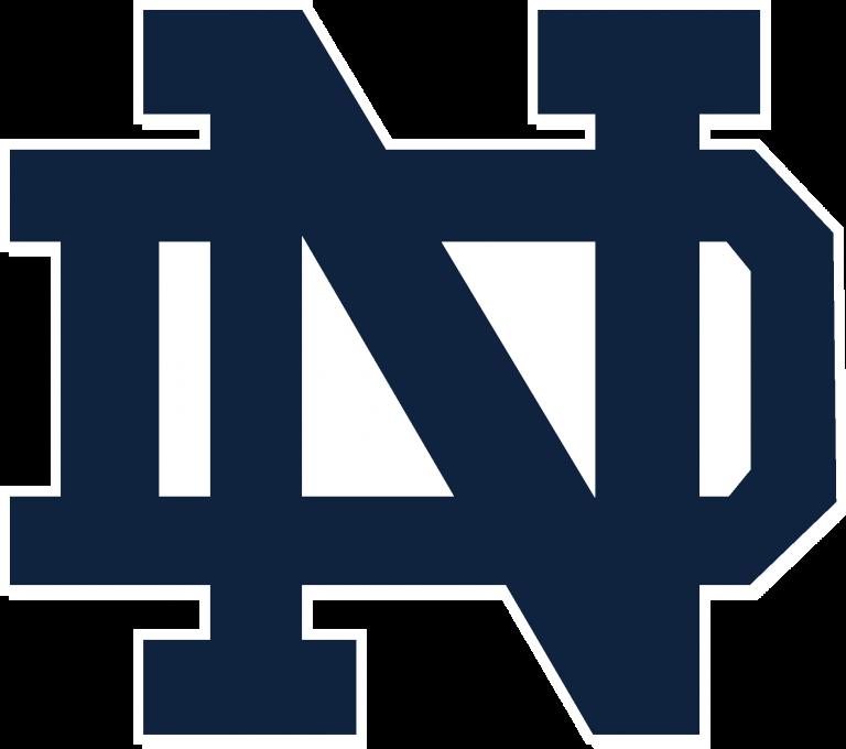 University Of Notre Dame Logo Notre Dame Logo Notre Dame University Notre Dame Football