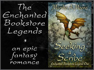 Adventure, dragons, wizards & romance! ENCHANTED BOOKSTORE LEGENDS http://amzn.to/1wUEkWO