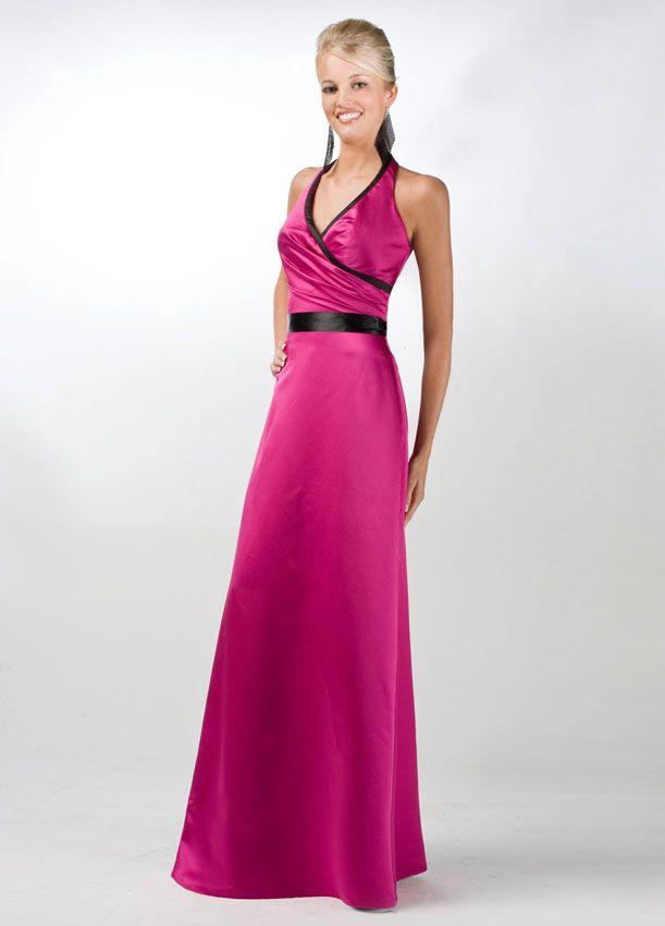 Da Vinci Bridesmaid 9240 Fabric Satin #timelesstreasure | Bridesmaid ...