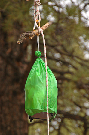 Backpacker Magazine - How to Hang a Bear Bag--PCT Style
