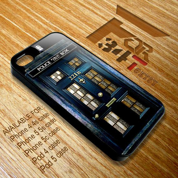 Apple iPhone and iPod case Tardis doctor who by CreativeFor34T