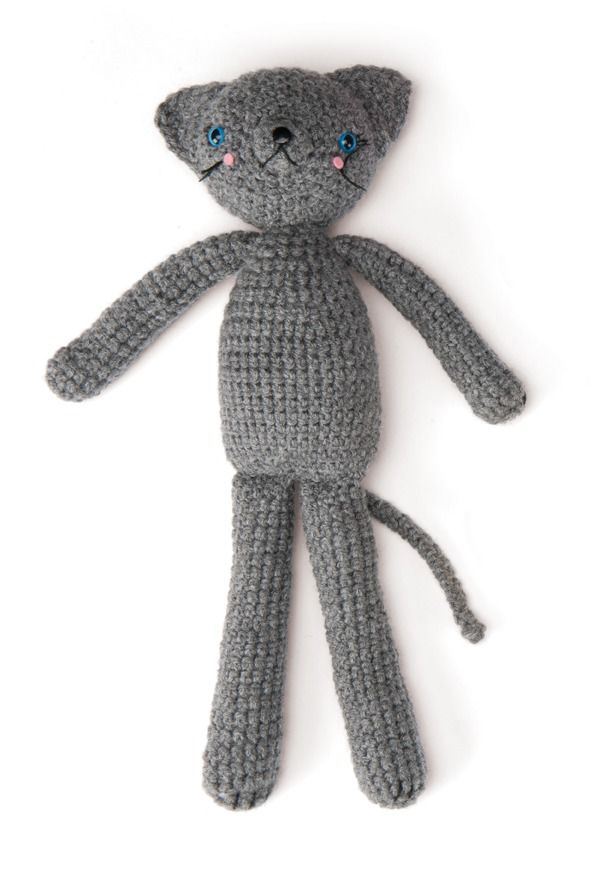 Coco the Cat You can download the free PDF pattern for this little ...