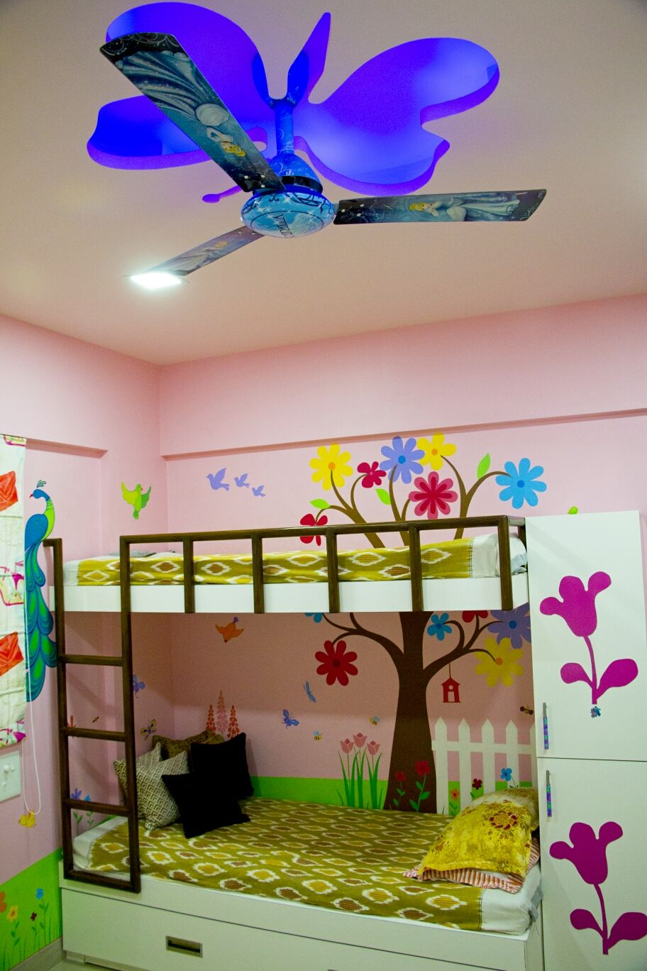 False Ceiling Design In Children Room By Alacritys Architecture
