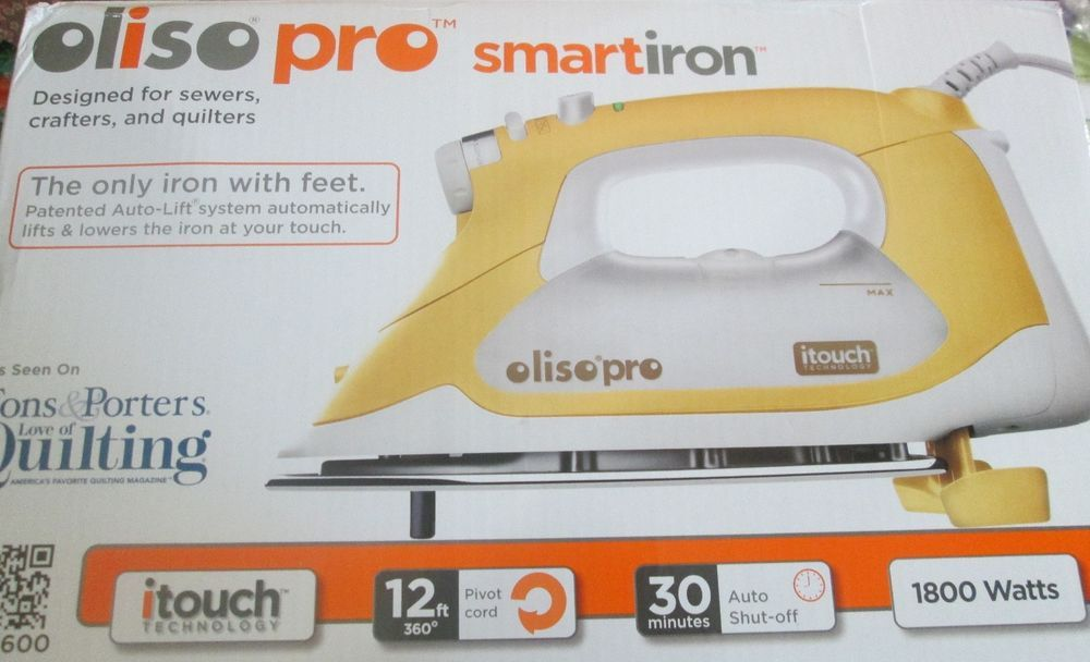Auto Lift Olisopro Iron Itouch Smart Iron Quilting Iron Auto