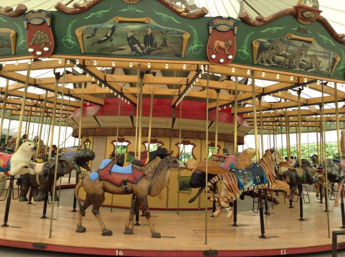 Lincoln Park Zoo Carousel - Chicago, IL | All Me | Pinterest